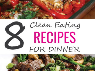 clean eating recipes for dinner