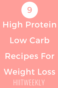 Here are 9 of our favorite high protein low carb recipes for weight loss. Keto Recipes. High Protein recipes.