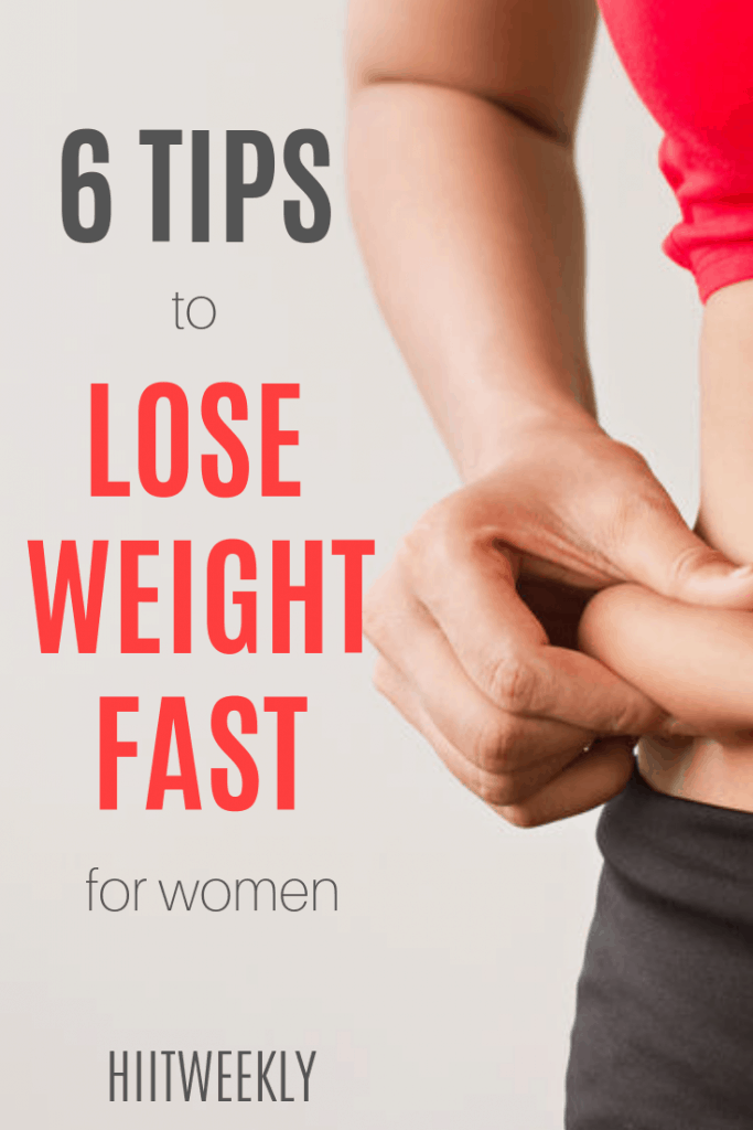 How to lose weight fast the right way is easier than you think. try these 6 fast weight loss tips and plus more to completely change your body and lifestyle.