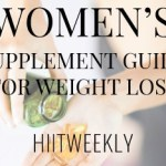 A supplement guide for women who want to lose weight and stay healthy. Women's supplement guide for weight loss.