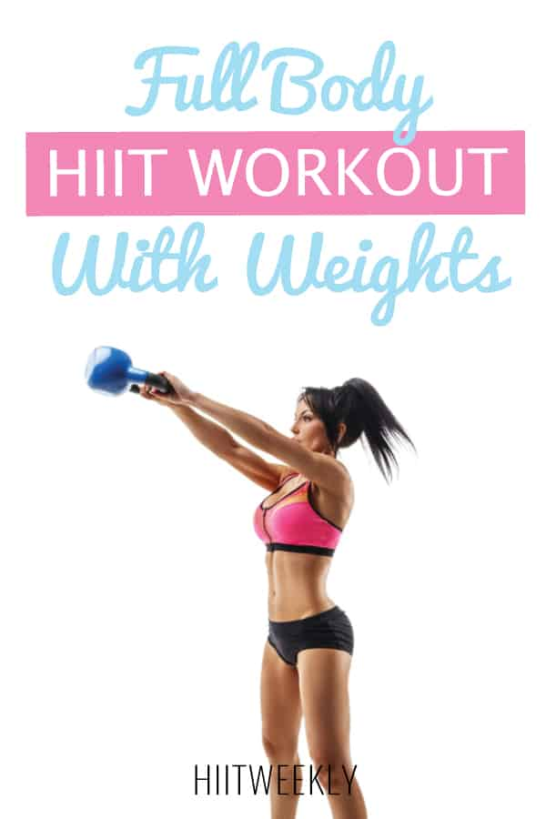 full body hiit workout with weights