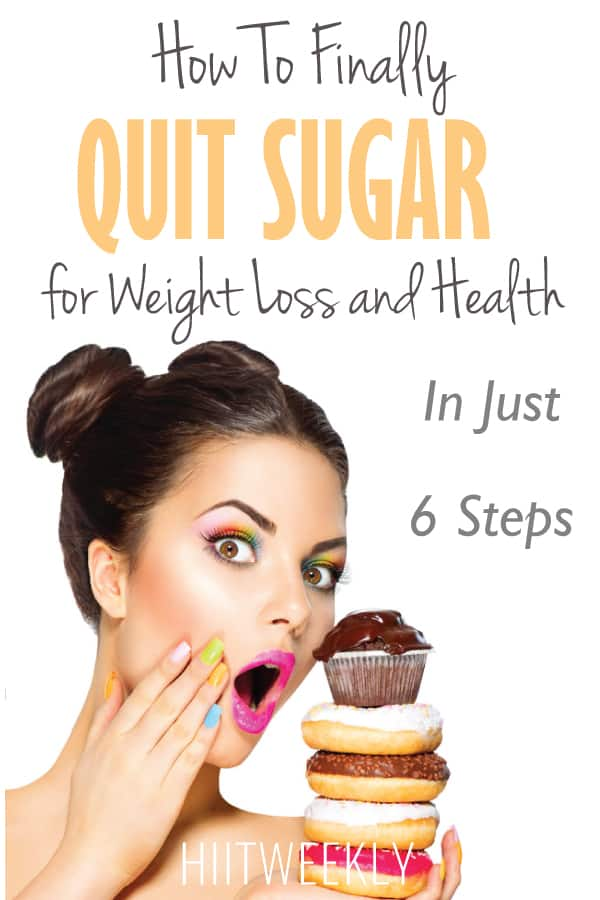how to quit sugar in 6 steps