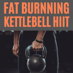 20 minute kettlebell workout to lose belly fat fast at home.