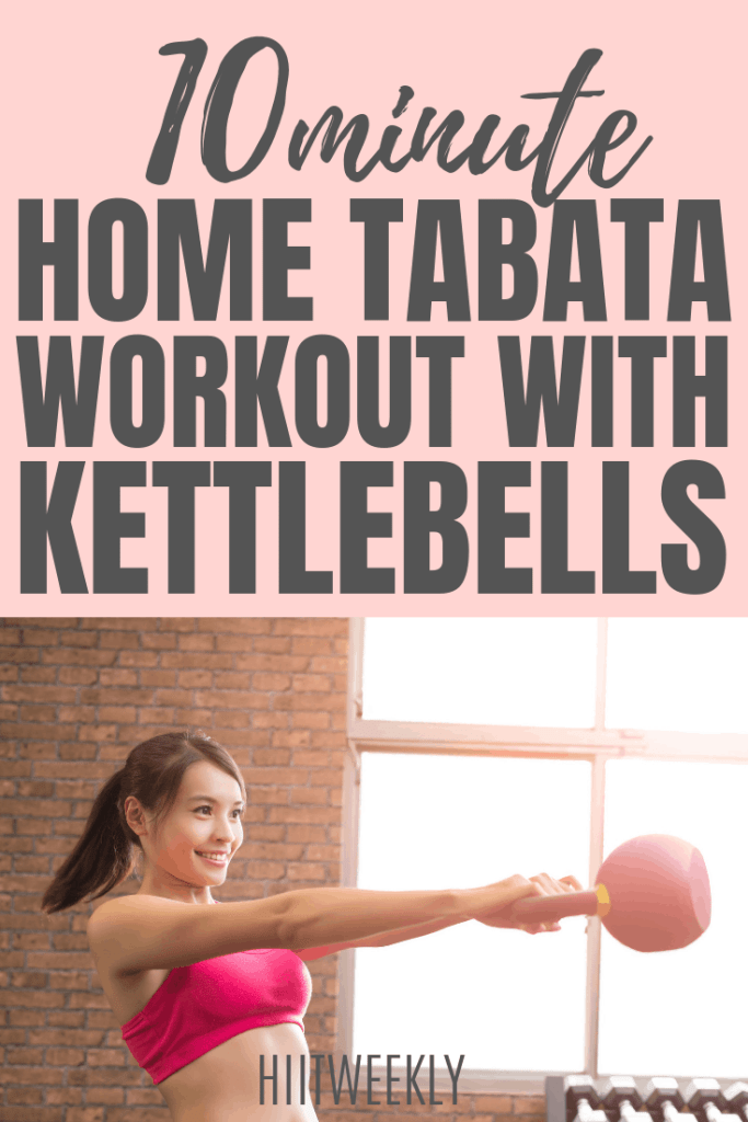 Build a toned lean body with these 2 Tabata workouts using weights with our 10 minute workout. Its super quick and super effective.