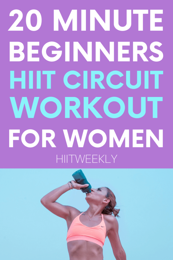 If you are a beginner or just new to HIIT then this beginners circuit workout routine is an ideal place to start. It's a full body, no equipment workout that promises fast results and can be done anywhere anytime.
