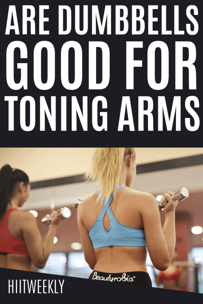 Having sleek toned arms are lovely to have. Especially when the suns out and you want to show them off. But how can you get them and are dumbbells good for getting toned arms.