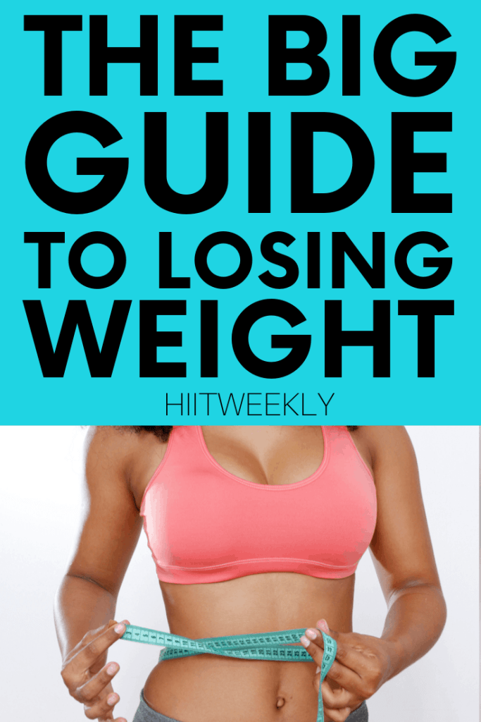 Start losing weight today with this ultimate weight loss guide designed for overweight and obese people who really want to start losing weight.