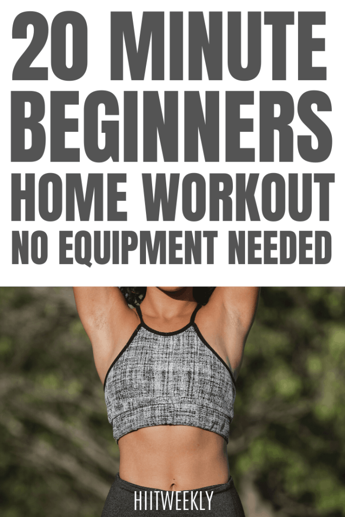 Try this quick 20 minute workout. if you are a complete beginner and want to try some home workouts then this is the workout for you. No equipment needed and there is no jumping. There are only 4 exercises.