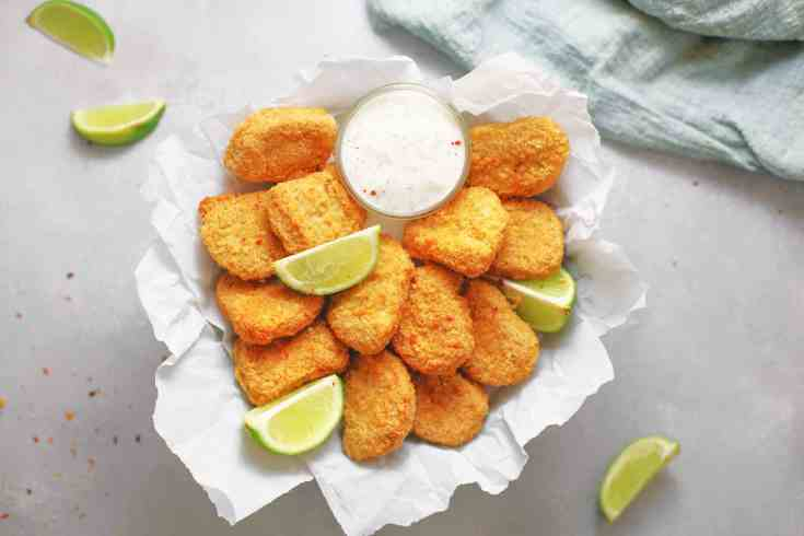 Best-Ever Crispy Vegan Tofu Nuggets (Baked)