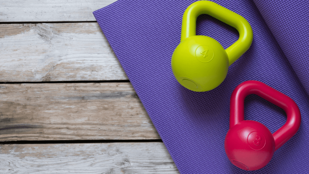 Work our upper body with this 28 minute kettlebell workout that you can do anywhere.