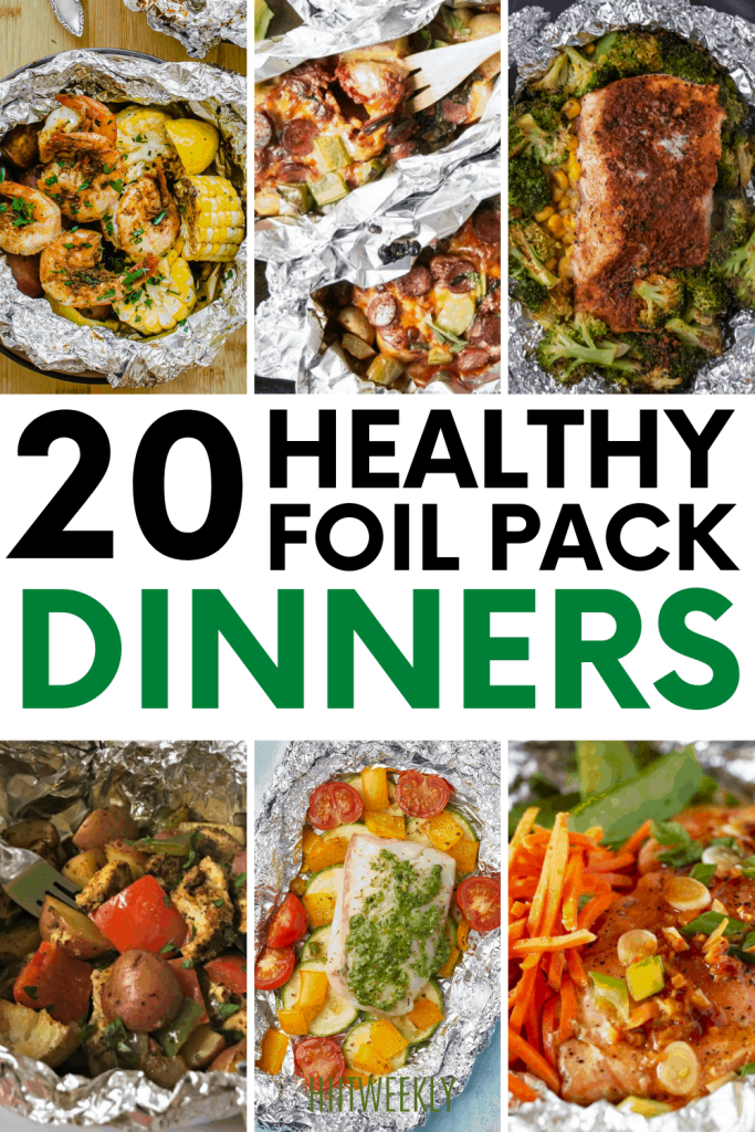 Dive into these healthy foil pack dinners. Foil pack recipes are naturally healthy as well as being packed full of protein.