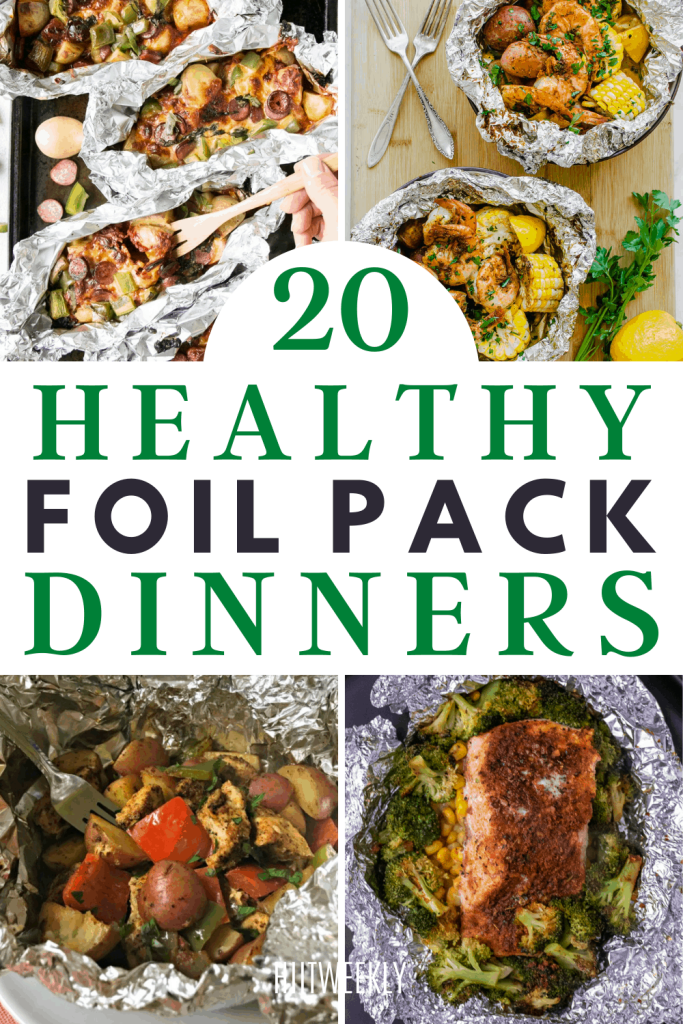 Improve your dinner time meals with these mess free foil pack dinner recipes. Foil pack dinners are ideal for when you don't have time to cook.