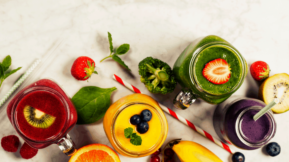 How to add fresh fruit and veg to your weight loss smoothie.