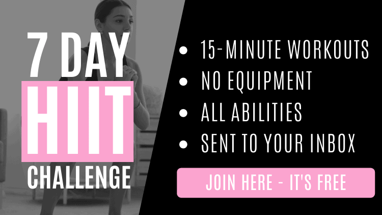 7 day HIIT challenge workout plan download.