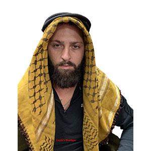 Arab Shemagh Head Scarf Neck Wrap Cotton Palestine Arafat Unisex