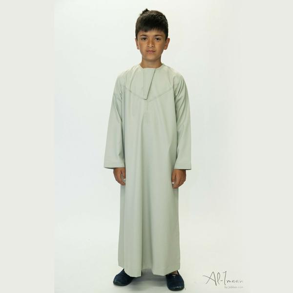 Boys Kids Saudi Style Thobe Thoub Robe Daffah Dishdasha Islamic Arabian Kaftan