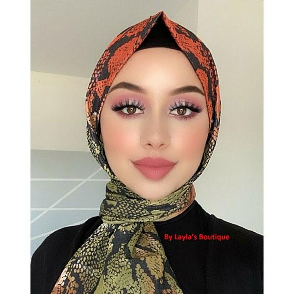 Women Fashion Printed Hijab Scarf Floral Shawl Head Neck Wrap