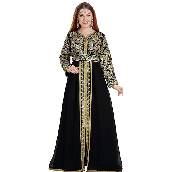 Kaftan Gown TeaParty Dress