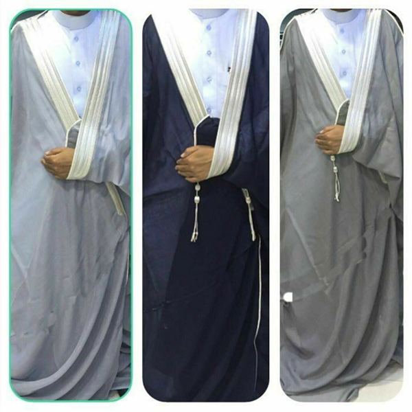 BISHT CLOAK ARAB DRESS THOBE SAUDI MENS ROBE EID