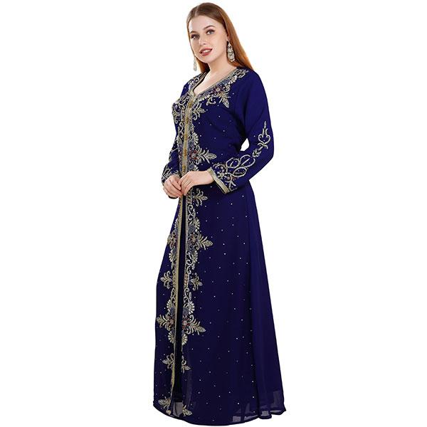 Persian Abaya Designer Kaftan Dress