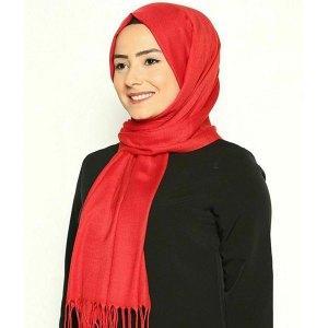 Hijab Scarf Head Cover Muslim Islamic Solid Pashmina
