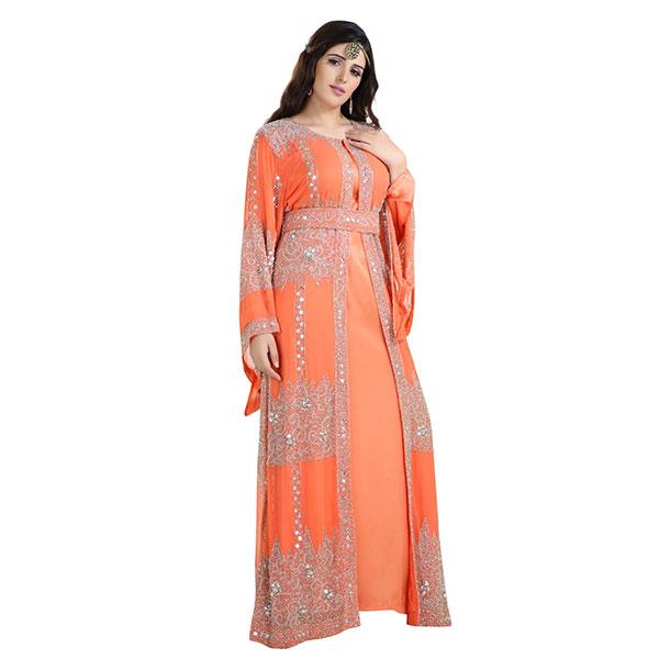 Turkish Dress Ladies Caftan Gown