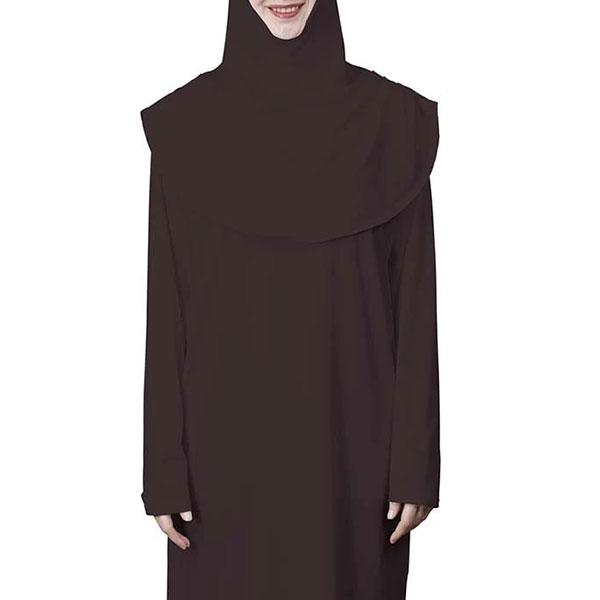 Abaya and Hijab Set - coffee