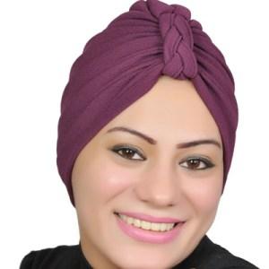 Women Turban Muslim Turban Head Hijab Turban Wrap Cover Cotton Spandex Blend