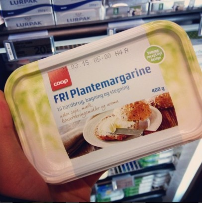 FRI margarine - forside (NY emballage) ♡