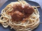 Kødfrieboller i tomatsauce ♡