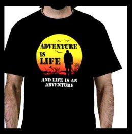 Adventure is life