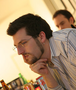 Joel Watson, creator of Hijinks Ensue