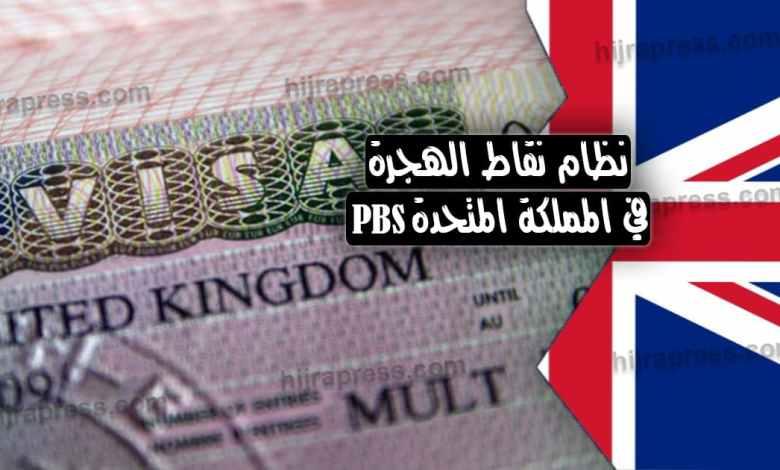 نظام نقاط الهجرة