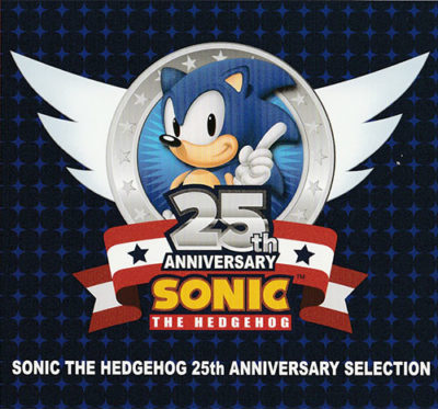 Sonic 25th Scan Cover