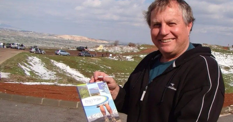 Israel Eshed - Creator of the Golan Trail