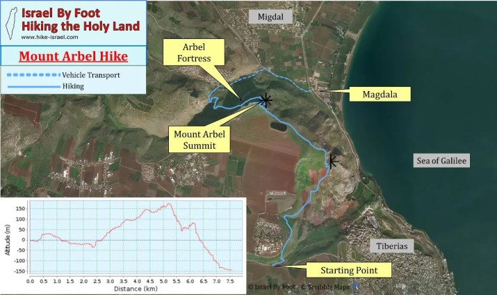 Mount Arbel Guided Group hike with Israel by Foot