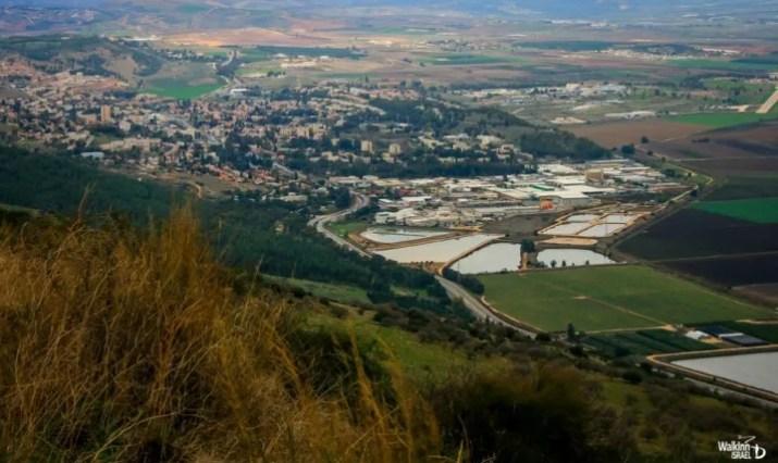 Kiryat Shmona from the Shouth