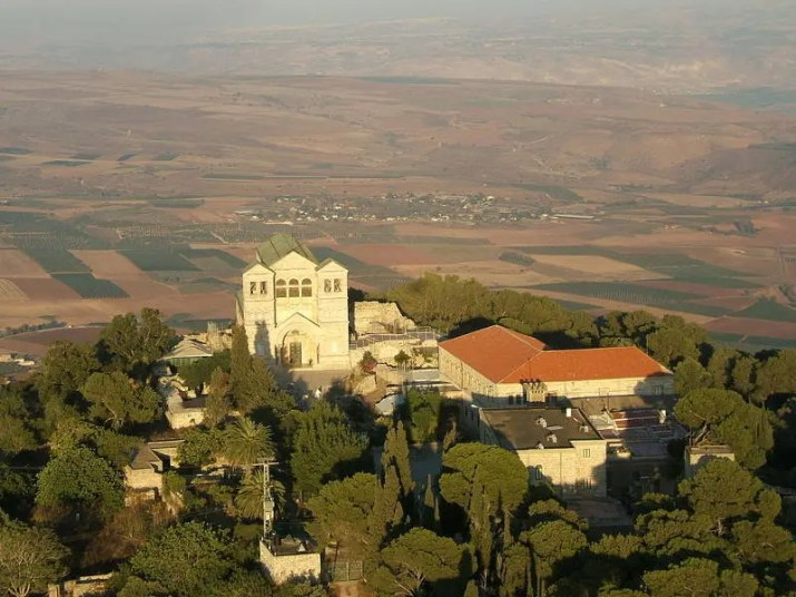 Church of Transfiguration - Arial View