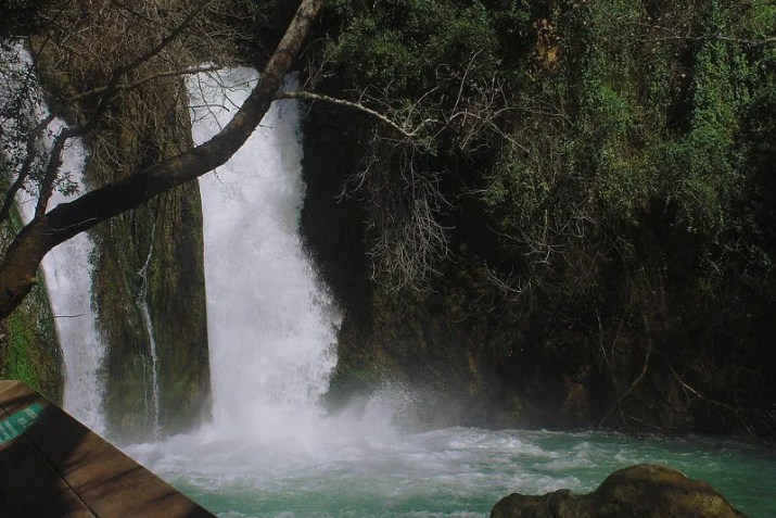 Banias Nature reserve - The big Waterfall