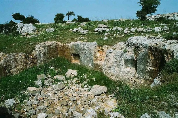 Karach Ruins on Mount Carmel