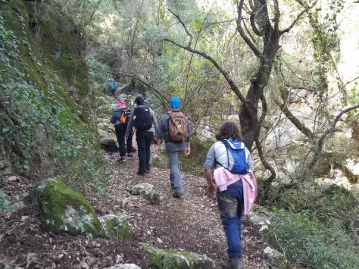 Wadi Tzivon - Israel National Trail
