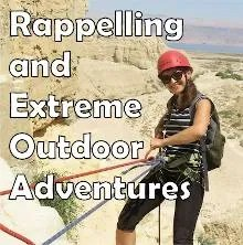 Extreme and rappelling activities in Israel