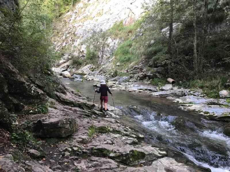 טיול רגלי ברומניה