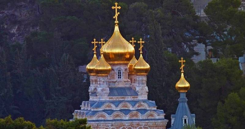 Church of Mary Magdalene, Mount of Olives, Jerusalem