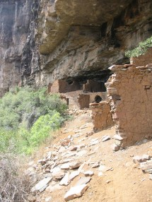 Cherry Creek Indian Ruins Arizona