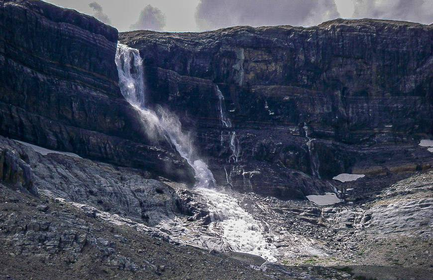Bow Glacier Falls - a hike off the Icefields Parkway
