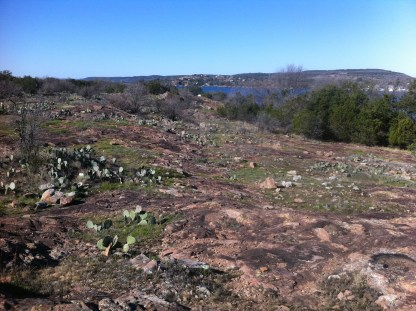 Cactus and rocks along the hiking trail. (JP)