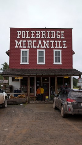 Polebridge Mercantile in the North Fork area right outside the park. It is on the way to Lake Bowman when we started our hike of the Numa Lookout Trail.(JP)