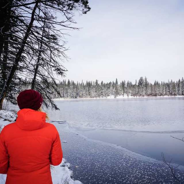 McConnell Lake Snowshoe