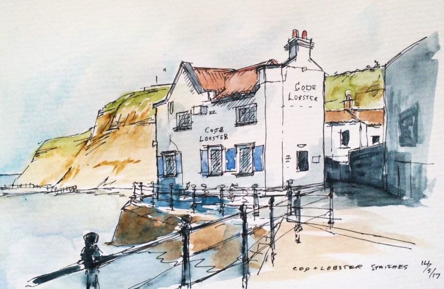 Cod & Lobster, Staithes